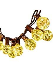 Docheer LED Fairy Mesh Net Lights Curtain Light 8 Modes Decorative Lighting
