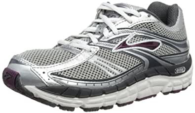 Brooks Addiction 10 W - Zapatillas de material sintético mujer, Plata - Silber (Silver/Grey/Plum), 36: Amazon.es: Zapatos y complementos