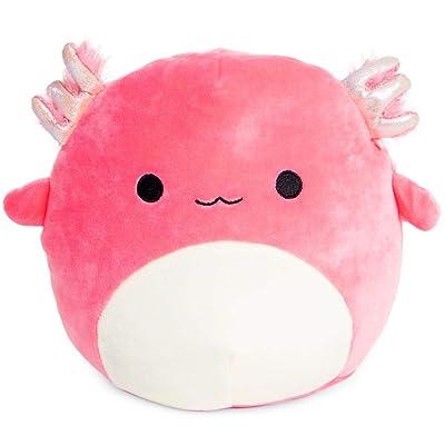 Squishmallows Axolotl Plush 8 inch Pink Salamander Fish: Toys & Games