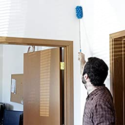 Agemore Ultimate Dash Duster - The Best Telescopic Flexible Extending Microfiber Multipurpose Duster -Office and Home Interior Use - Professional Detailing Tool Good Grips Microfiber Hand Duster