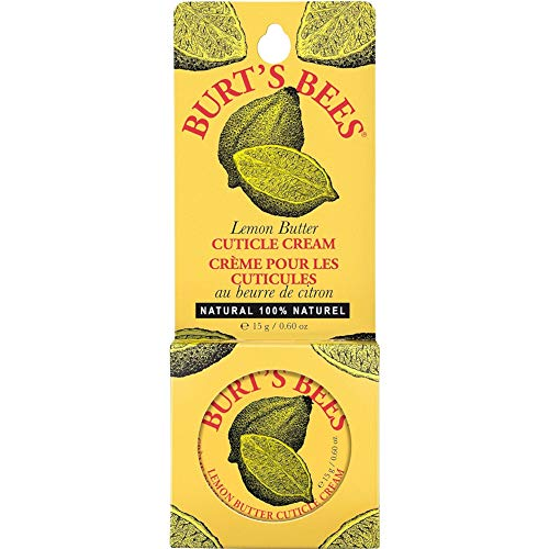 Burt's Bees Lemon Butter Cuticle Creme, 0.6-Ounce Tin (Pack of 3)