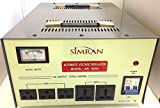 Simran Power Converter Regulator Stabilizer with Built-In Voltage Transformer, 8000W ( AR-8000 )