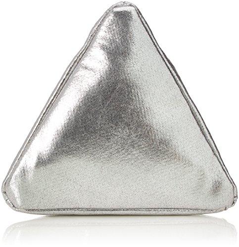 Joop! Signore Scintillante Piramide Di Pyra Slingbag Svz Borsa Da Polso, Argento (pistola), 22x22x22 Cm
