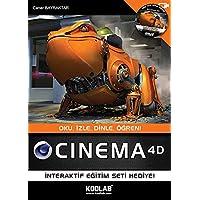 Cinema 4D: Oku, İzle, Dinle, Öğren! İnteraktif Eğitim Seti Hediye!