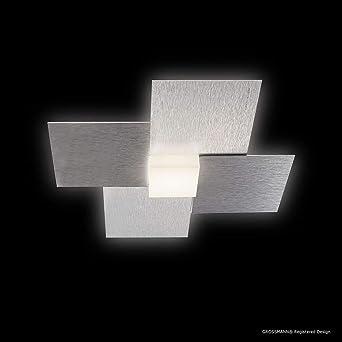 Grossmann 51 770 072 Applique Muraleplafonnier Creo Led 1 Lumière