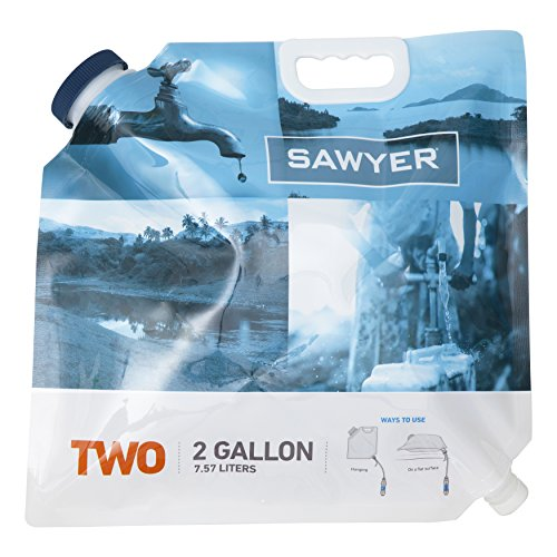 Sawyer Products SP109 Two-Gallon Water Bladder for Mini and Squeeze Filters