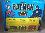 Batman Batmobile-Batwing-Joker Van