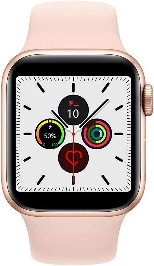 WLPT Inteligente Reloj, 40mm Reloj W55 SmartWatch Control Remoto ...