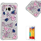 Funyye Crystal Rubber Case for Samsung Galaxy S8,Luxury...
