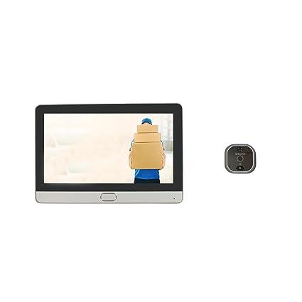 Mirilla de puerta digital Wi-Fi, con pantalla táctil y vídeo-interfono Eques