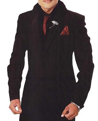 INMONARCH Hombres esmoquin negro traje Clásico 7 PC TX907XL34 44 ...