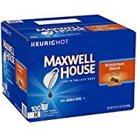 Deals on Maxwell House Breakfast Blend Coffee K-CUP Pods 84 Count