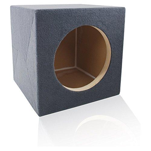 1.375 ft^3 Sealed MDF Sub Woofer Enclosure for Single JL Audio 12