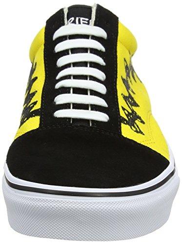 Camionnettes Unisexe Vieux Skool Chaussures De Skate Classiques (arachides) Charlie Marron / Noir