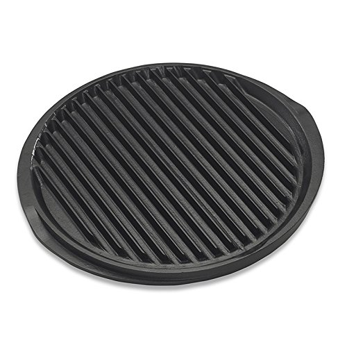 Nordic Ware Pro Cast Flattop Reversible Round Grill Griddle, 12-Inch