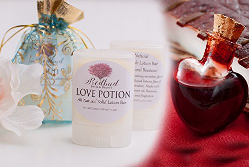 """Womens Solid Lotion Bar All Natural .35 oz Sunflower Oil & Beeswax """"Love Potion"""""""
