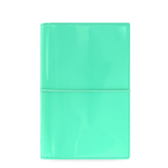 10 opinioni per Filofax Domino Patent- Organiser, colore: Turchese