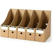 Archivador 5 Piezas/Set Simple Papel Documentos Escritorio Organizador Caja de Almacenaje Plegable Lápiz Oficina…