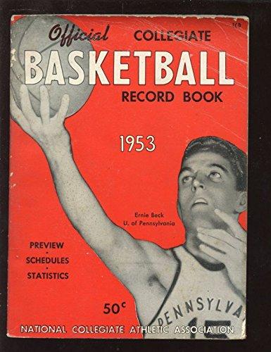 (1953 NCAA Collegiate Basketball Record Book)
