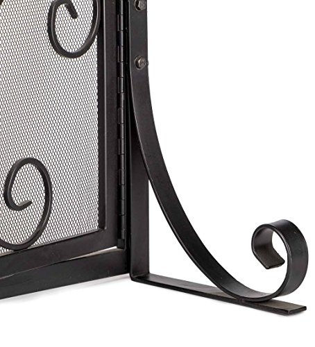Buy metal fireplace screen