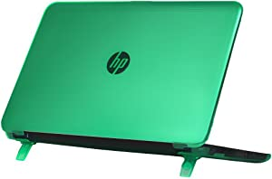"""mCover Hard Shell Case for 15.6"""" HP Pavilion 15-ccXXX (15-cc000 to15-cc999) Series (NOT Fitting 15-ayXXX or 15-baXXX or 15-auXXX Series or Envy laptops) Notebook PC (Pavilion-15-CC Green)"""