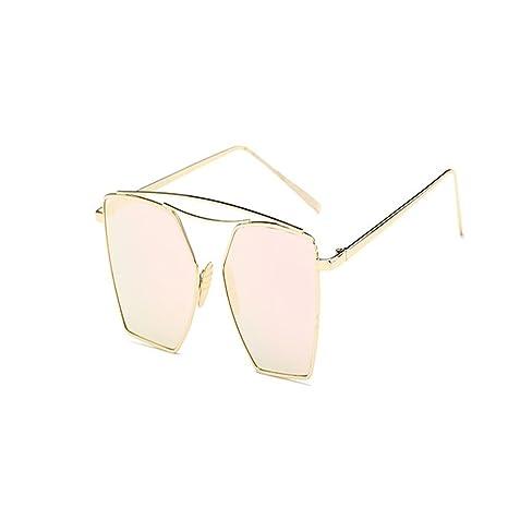 Miyare Nuevas Gafas de sol de Marco Metal tendencia anti-UV ...