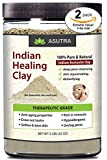 ASUTRA 100% Pure Sodium Bentonite Indian Healing Clay, THERAPEUTIC GRADE, Natural & Safe, Revitalize Skin & Hair, Combat Acne, Clay Face Mask, Deep Pore Cleansing, 4 lbs For Sale