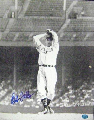 Signed Bob Feller Photograph - 11x14 Image #2 - Autographed MLB Photos