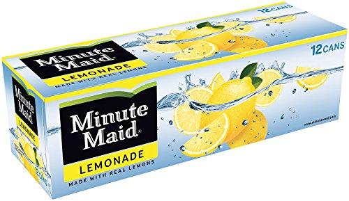 Minute Maid Lemonade Fridgepack Cans, 12 Ounce (Pack of 12)