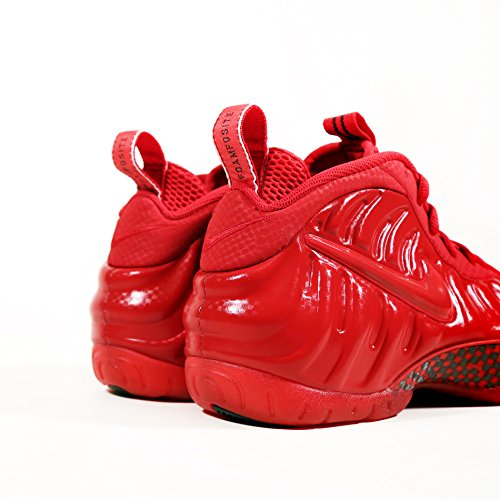 "Nike Herren Air Foamposite Pro ""Red October"" Gym Rot / Schwarz Synthetischer Basketball Gym Rot / Schwarz / Gym Red"