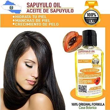 SAPUYULO Oil 2 fl oz EXTRACTO MAMEY PURE 100% LA ORIGINAL SKIN CARE