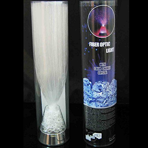 E&A Ice Fiber Optic Mood Novelty Lamps Lighting Glacier Lite with Color-Changing Crystals Base by E&A (Image #4)
