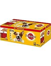 Pedigree Adult Hondenvoeding, Voor Volwassen Honden In Portiezak, Verschillende Soorten, 40 x 100 g