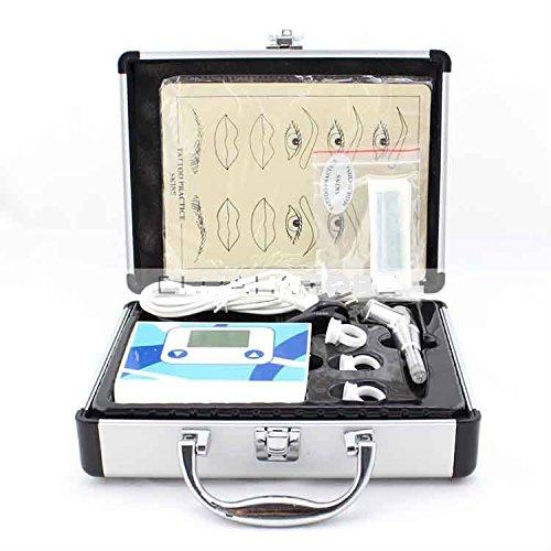 Permanent Makeup Pen Machine Kit Professional eyebrow tattoo machine power supply tatoo makeup equipment tool set by Unknown
