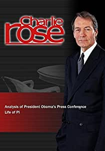 Charlie rose analysis of president obama 39 s for Life of pi movie analysis