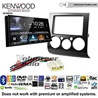Volunteer Audio Kenwood DDX9904S Double Din Radio Install Kit with Apple CarPlay Android Auto Bluetooth Fits 2004-2012 Mitsubishi Galant