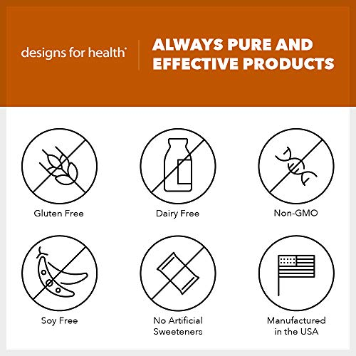Designs for Health - Chocolate PurePaleo IgG - Protein Powder with BCAAs + Immunoglobulin, 405g by designs for health (Image #4)