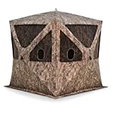 Barronett Blinds BC350BB Big Cat Pop Up Portable Hunting Blind, Bloodtrail Blades Camo