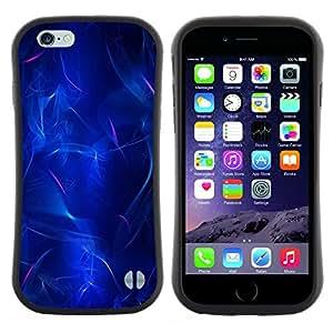 "Hypernova Slim Fit Dual Barniz Protector Caso Case Funda Para Apple (4.7 inches!!!) iPhone 6 / 6S (4.7 INCH) [Eléctricos Luz Agua Luces abstractas""]"