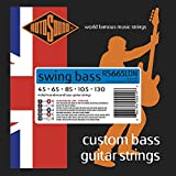 Rotosound RS665LDN Nickel 5 String Bass Guitar Strings (45 65 85 105 130)