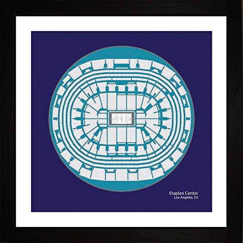 - Los Angeles Lakers Staples Center Arena Framed Art Gift