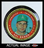 1971 Topps Coins # 132 Sal Bando Oakland Athletics (Baseball Card) Dean's Cards 4 - VG/EX Athletics