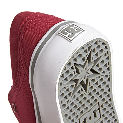 DC Trase Tx Boys Trainers Shoes - Red