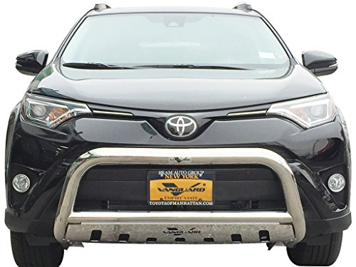 VANGUARD VGUBG-0453SS 06-17 Toyota RAV4 (Exclude 16 Rav4 SE) Wide Bull Bar with Skid Plate 3″ S/S
