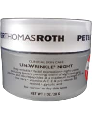 (4 星)$80.83,Peter Thomas Roth Un-Wrinkle彼得罗夫1oz抗皱晚霜,