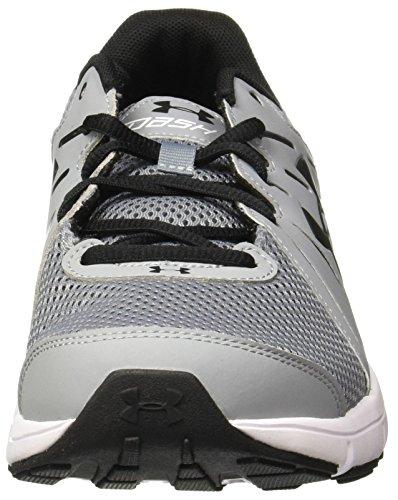 Under Armour Ua Dash Rn 2, Chaussures de Running Homme, Gris (Steel), 44 EU