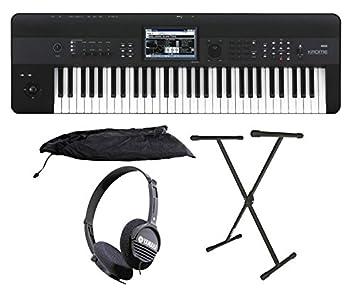 Korg Krome 61 Key Music Workstation Keyboard Bonus Package: Amazon