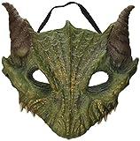 Forum Novelties Dragon Half Green Mask