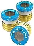 15 amp fuse plug - Leviton 7942-15 15 Amp Time Delay Plug Fuse