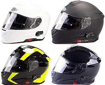 Viper Casco de la motocicleta V131-Plus Bluetooth Casco compite con el casco Negro Mate